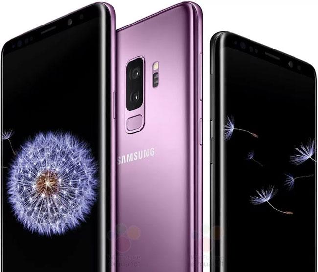 Bộ đôi Galaxy S9/S9+ sẽ có phiên bản màu mới àu Lilac Purple ấn tượng