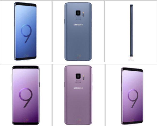 Galaxy S9 sẽ có màn hình 5,8 inch và Galaxy S9 sẽ là màn hình 6,2 inch