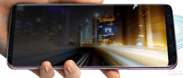 Màn hình vô cực tràn cạnh, còn 2 viền màn hình trên dưới sẽ được làm nhỏ hơn nữa so với Galaxy S8.