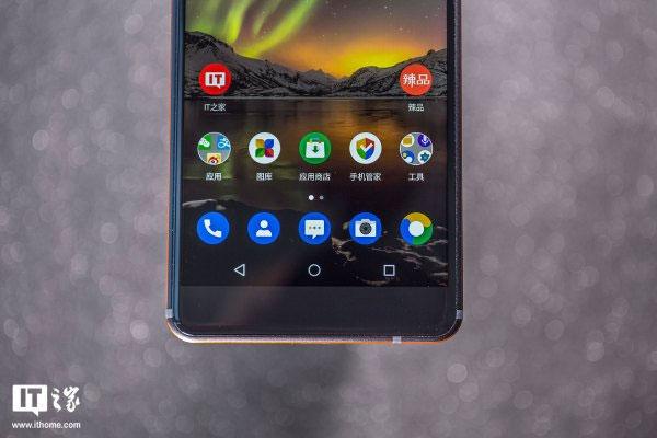 Chất lượng hiển thị của Nokia 6 khá tốt với màn hình IPS LCD, độ phân giải Full HD