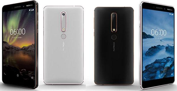 Người dùng có 2 tùy chọn màu sắc khác nhau dành cho phiên bản Nokia 6 mới