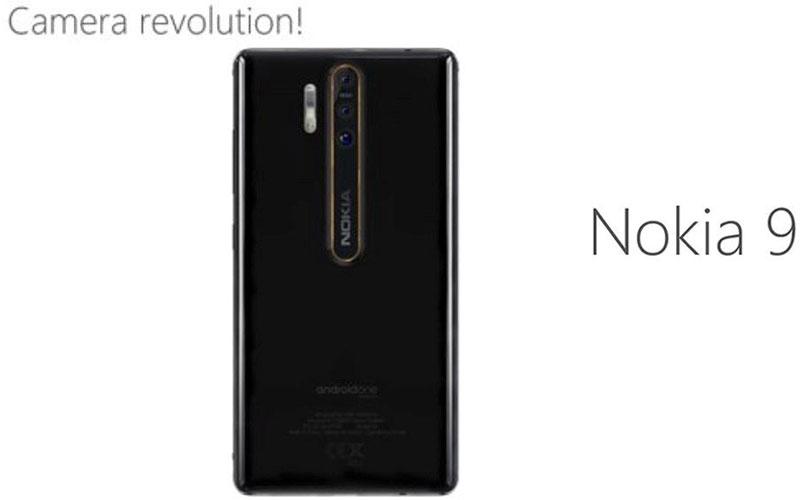 Hình ảnh rò rỉ của Nokia 9 cho thấy máy sở hữu đến 3 ống kính có gắn nhãn hiệu ZEISS