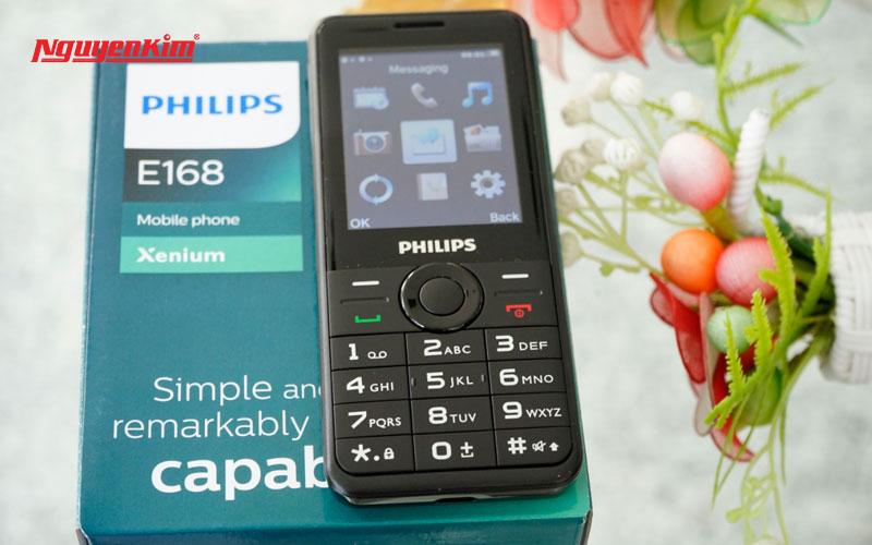 Giải trí thả ga cùng âm nhạc trên Philips Xenium E168