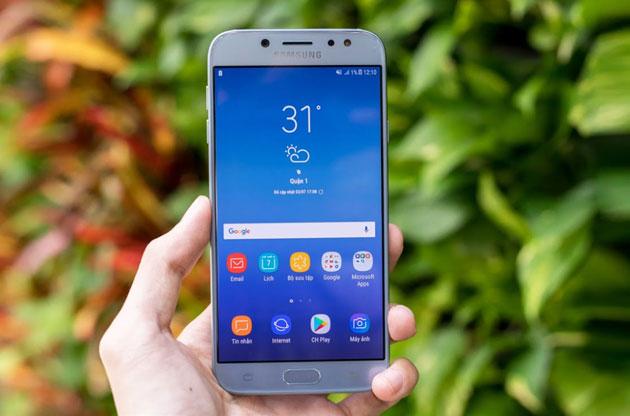 Galxaxy J7 Pro dòng smartphone tầm trung đình đám của Samsung năm 2017