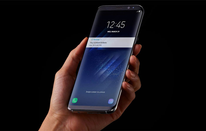Là siêu phẩm dĩ nhiên điện thoại sẽ được Samsung trang bị những bảo mật đỉnh cao