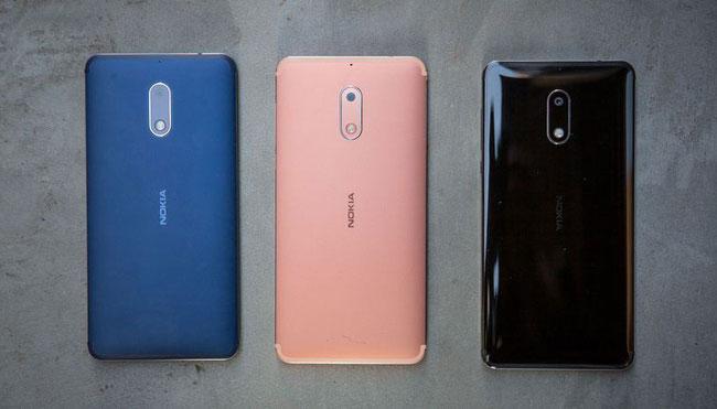 Bộ 3 smartphone năm 2017 của Nokia
