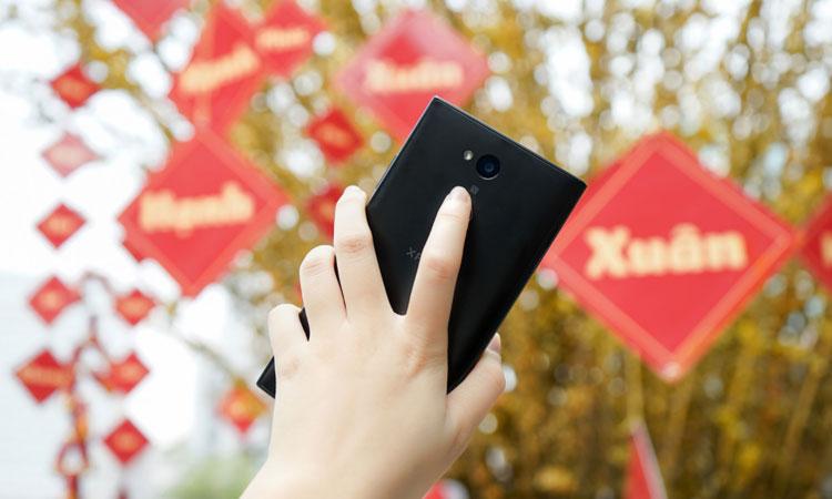 """Cảm biến vân tay đã xuất hiện trên một chiếc điện thoại giá """"mềm"""" của Sony"""