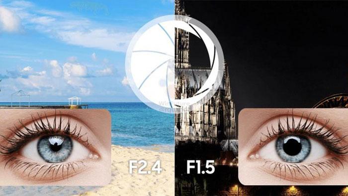 Camera khẩu độ khủng F1.5 hoàn toàn có khả năng sẽ được trang bị trên bộ đôi điện thoại Galaxy S9/S9+