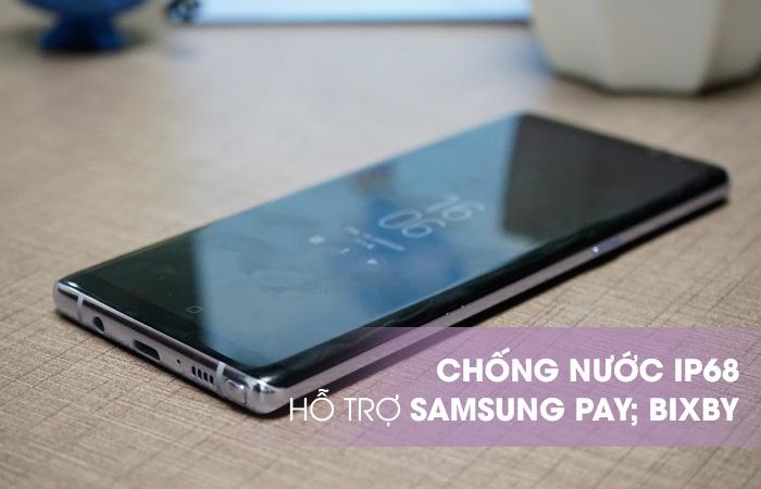 Galaxy Note 8 Tím Khói đạt chuẩn IP68