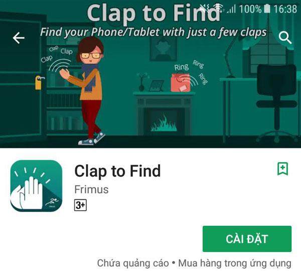 """Clap to Find - ứng dụng mà hội """"não cá vàng"""" rất cần"""