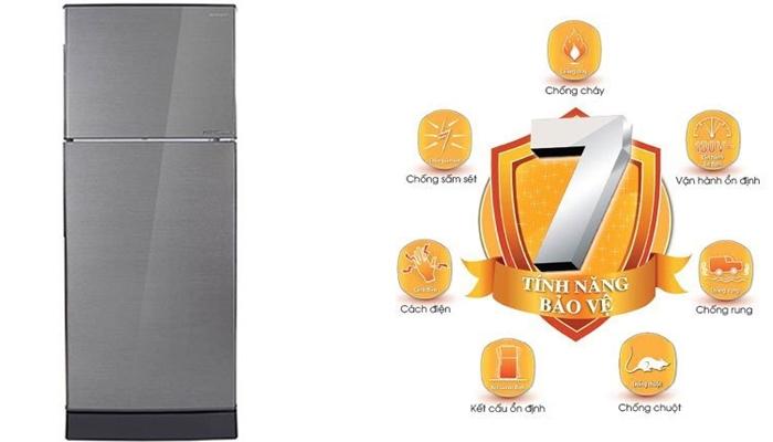 Tủ lạnh Sharp hội tụ 7 tính năng ưu việt độc đáo