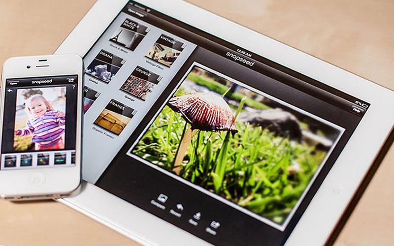 Ứng dụng Snapseed có thể sử dụng được trên điện thoại lẫn máy tính bảng