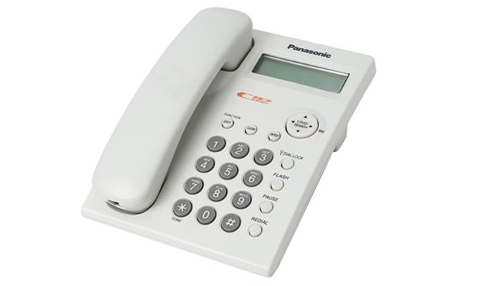 Điện thoại hữu tuyến Panasonic KX-TSC11 truyền cuộc gọi nội bộ