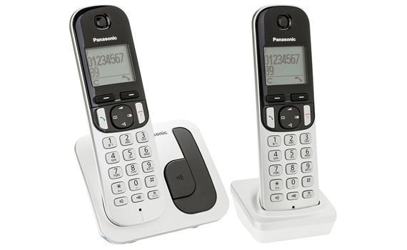 Điện thoại không dây Panasonic KXTGC212CX màn hình màu cam đẹp mắt