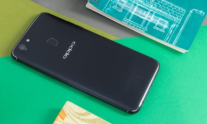 Oppo F5 Youth đen thiết kế nguyên khối sang trọng