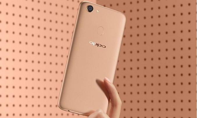 Oppo F5 Youth vàng thiết kế nguyên khối sang trọng