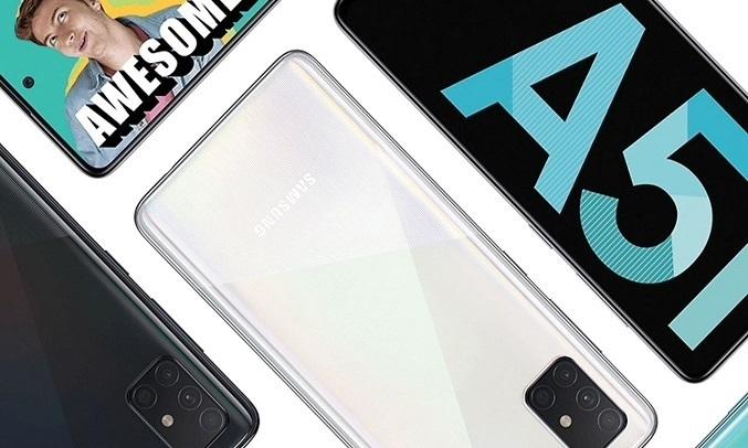 Điện thoại Samsung Galaxy A51 128GB Trắng - Camera Selfie chất lượng