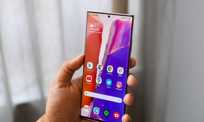 Điện thoại Samsung Galaxy Note 20 Ultra 5G Đồng