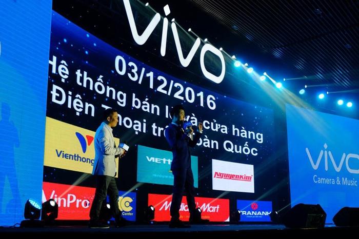 Điện thoại Vivo V5 thuộc phân khúc tầm trung vừa được ra mắt