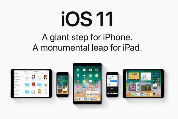 Hệ điều hành iOS 11 sẽ được Apple ra mắt trong sự kiện