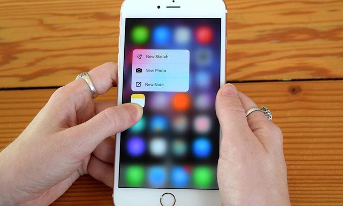 iPhone 6S Gold 32GB thiết kế đột phá