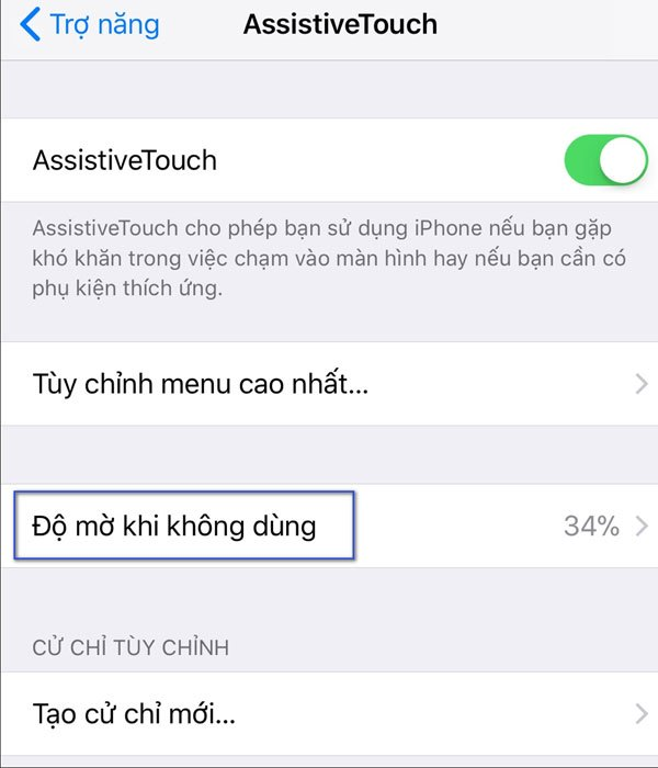 Với iOS 11 Beta 7 bạn đã có thể tự chỉnh độ mờ khi không dùng đến điện thoại