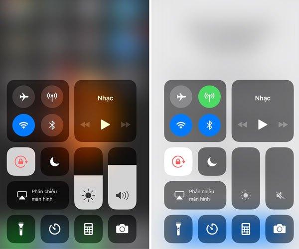 Trung tâm kiểm soát của iOS 11 Beta 7 cũng có những điều mới mẻ