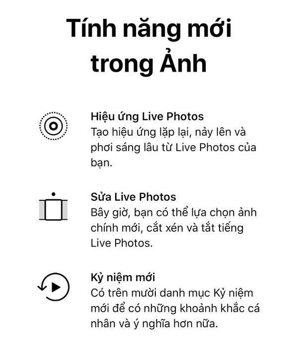 Danh mục ảnh trên điện thoại cũng được cải tiến đáng kể với iOS 11 Beta 7
