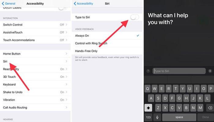 Giọng nói của Siri trên iOS 11 không chỉ tự nhiên hơn mà Apple còn tích hợp thêm khả năng gõ câu lệnh cho trợ lý ảo thay vì chỉ điều khiển bằng giọng nói.
