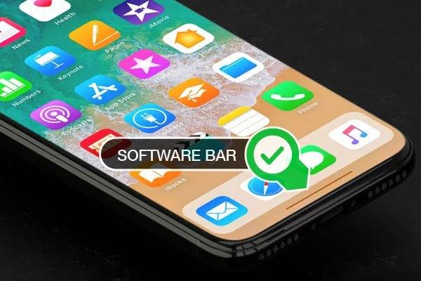 Nhiều ý kiến cho rằng phím Home trên điện thoại iPhone 8 sẽ được thay thế bởi thanh software bar