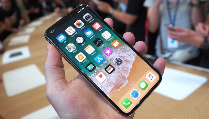 Màn hình iPhone X kích thước 5.8 inch