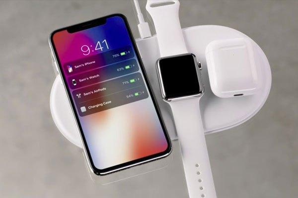 Tấm sạc không dây AirPower cho bạn sạc iPhone X và các thiết bị khác nhanh chóng