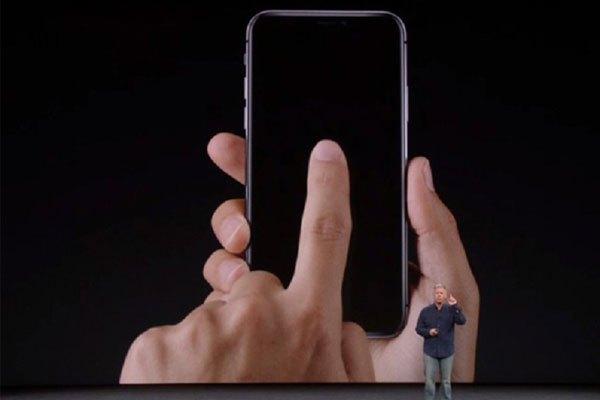 Gõ nhẹ màn hình để mở khóa iPhone X