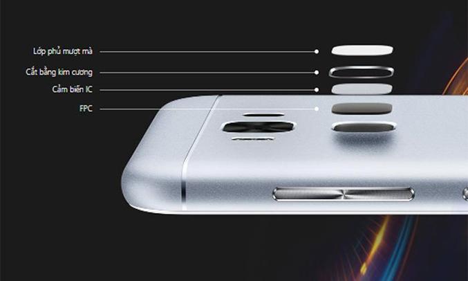 Điện thoại Asus Zenfone 3 Max ZC553KL cảm biến vân tay