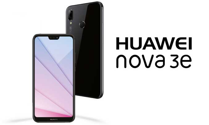 Điện thoại Huawei Nova 3E thiết kế trẻ trung