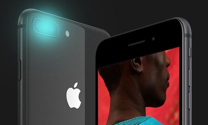 Điện thoại di động iPhone 8 Plus 64GB Gold trang bị camera chụp ảnh chuyên nghiệp