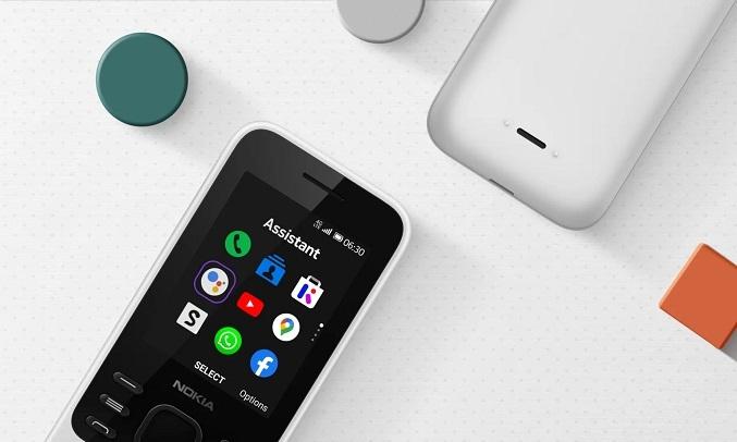 Điện thoại Nokia 6300 4G Xanh - Hiệu năng ổn định