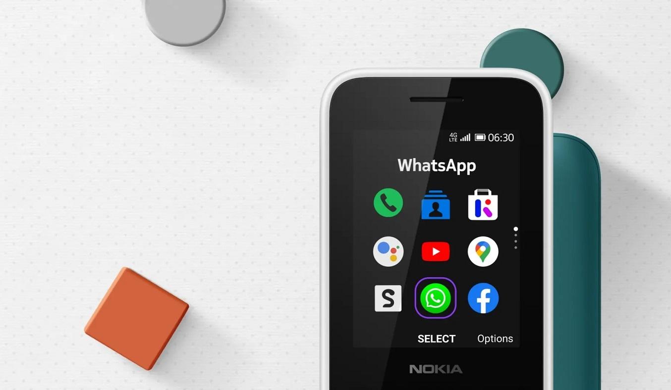 Điện thoại Nokia 6300 4G Xanh - Hỗ trợ kết nối 4G
