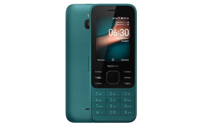 Điện thoại Nokia 6300 4G Xanh - Nhỏ gọn bền bỉ