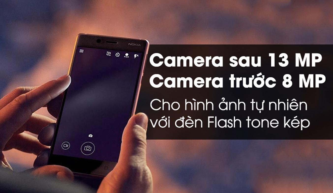 Điện thoại Nokia 5 màu đồng có thiết kế sang trọng, hiện đại