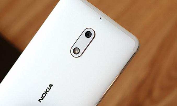 Điện thoại di động Nokia 6 màu bạc màn hình LCD IPSkích thước5.5 inches full HD sắc nét