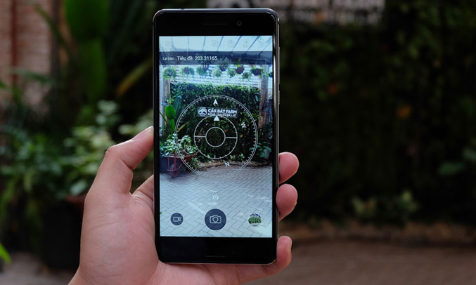 Điện thoại di động Nokia 6 màu xanh dương camera chụp hình ấn tượng