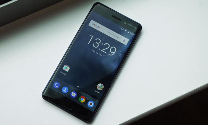 Điện thoại di động Nokia 6 màu xanh dương màn hình LCD IPSkích thước5.5 inches full HD sắc nét