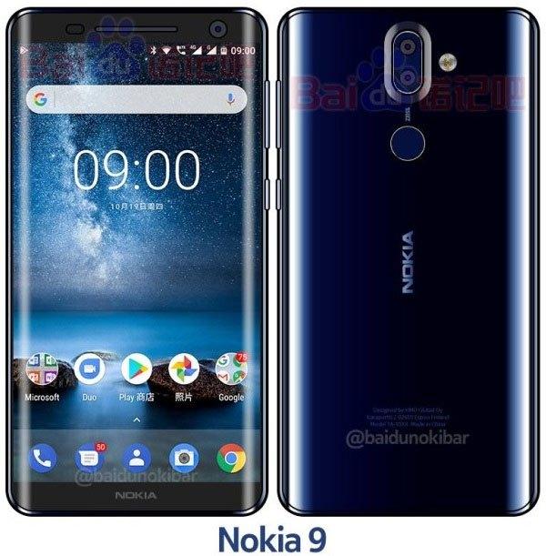 Và đến phiên bản Nokia 9 Xanh lam bóng, Nokia Fan có dịp chiêm ngưỡng cận cảnh hơn màn hình cong tràn vô cực quyến rũ