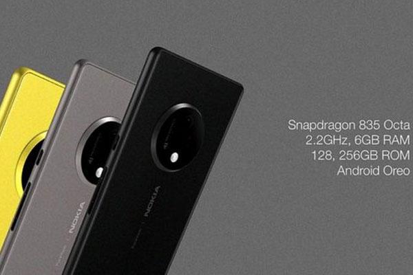 Concept Nokia 10 còn sở hữu cấu hình vô cùng mạnh mẽ