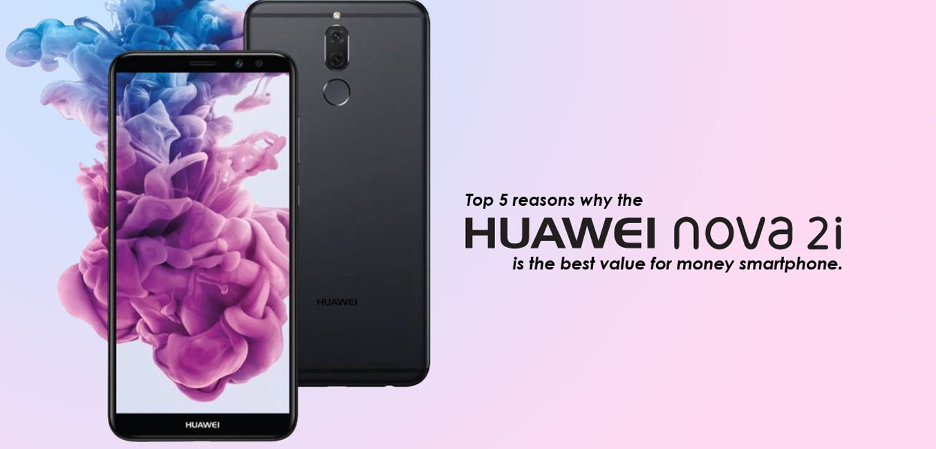 Huawei Nova 2l đen viền màn hình cực mỏng