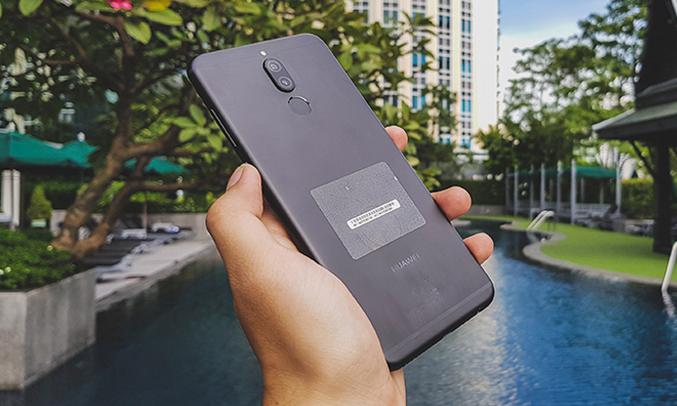 Huawei Nova 2l đen vỏ kim loại sang trọng