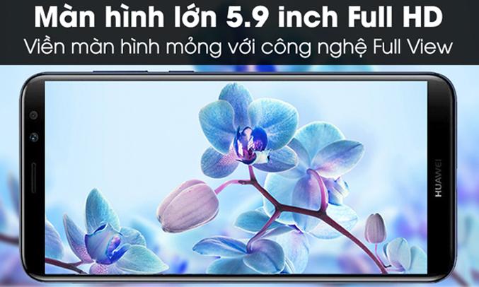 Huawei Nova 2l đen màn hình 5.9 inch Full HD