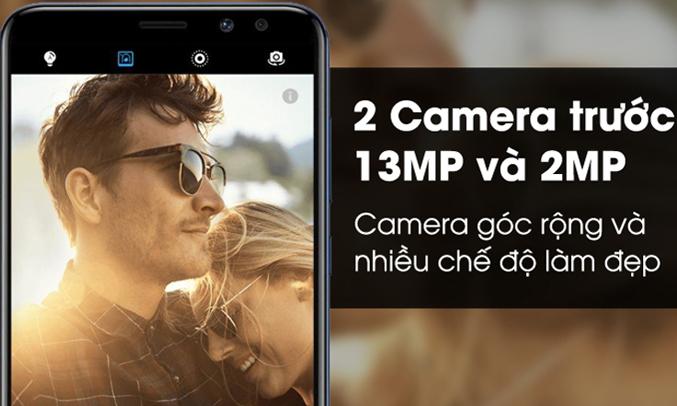 Huawei Nova 2l đen 4 camera độ phân giải lớn