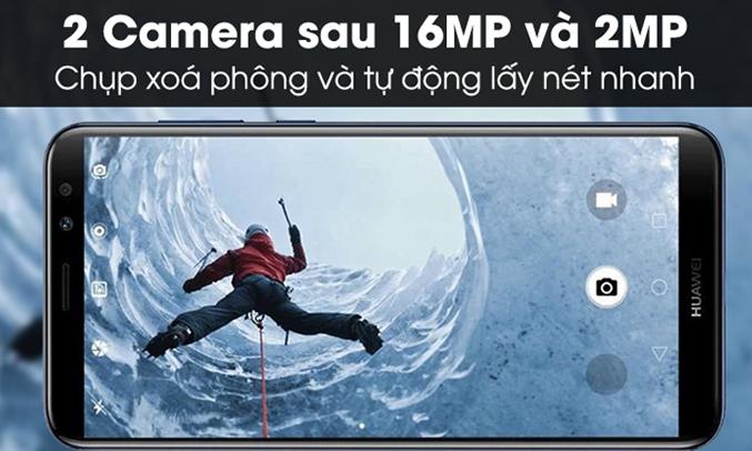 Huawei Nova 2l đen chức năng xóa phông